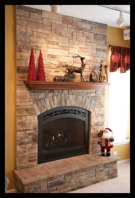 ledgestone fireplace pictures north star stone