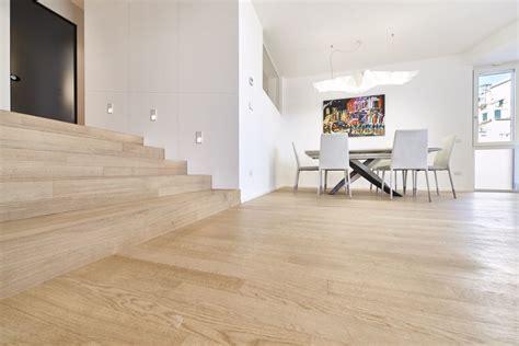 Ambienti Con Parquet Rovere ambienti realizzati con parquet in rovere pavimenti in