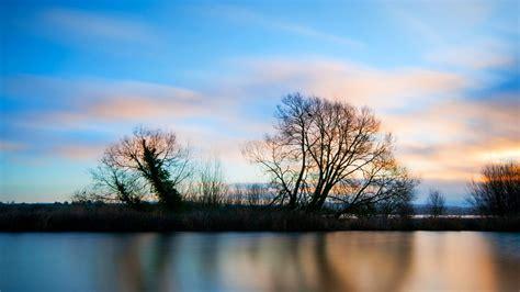 风景图片,傍晚湖泊风景自然图片大全(2)