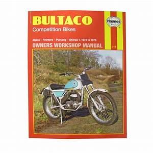 Workshop Manual Bultaco Alpina  Frontera  Pursang  Sherpa