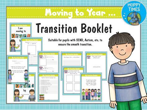 transition booklet sen autism  hoppytimes teaching