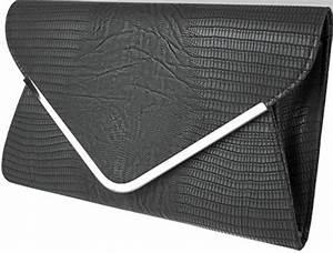 Pochette Pour Sac : craquez pour une pochette noire pour femme sac shoes ~ Teatrodelosmanantiales.com Idées de Décoration