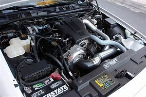Check Out The Vortech Supercharger And T56 Magnum Hiding
