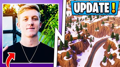 fortnite update tfue hacker  map playground