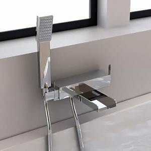 Douchette Salle De Bain : robinet salle de bain avec douchette 0 robinet mitigeur ~ Edinachiropracticcenter.com Idées de Décoration
