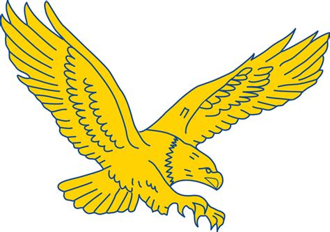coppin state eagles secondary logo ncaa division