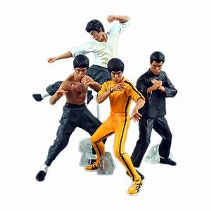Kung Fu Figuren : anime figure 4pcs set cool bruce lee kung fu pvc action figures collection toys model in action ~ Sanjose-hotels-ca.com Haus und Dekorationen