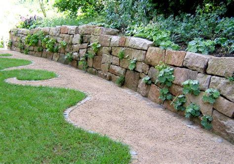 Mauer Ohne Mörtel by Gartengestaltung Mit Naturstein Garten Und