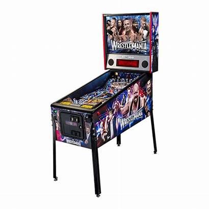 Pinball Machine Wwe Pro Stern Wishlist Wrestlemania