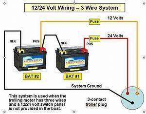 Trolling Motorwiring    24 To 24 V