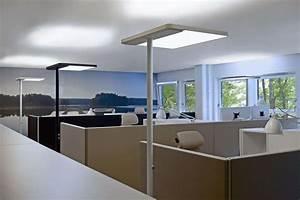 Büro Stehlampe Led : stehleuchten im b ro f r perfektes licht bublitz b roeinrichter hamburg ~ Markanthonyermac.com Haus und Dekorationen