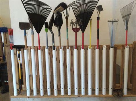 Garage Storage Ideas Garden Tools by Garden Tool Storage Great Way To Organize Garden Tools