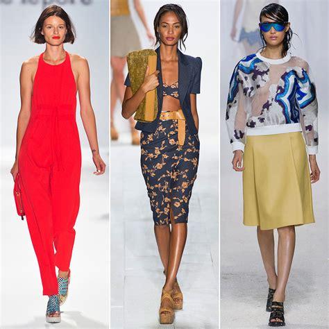 Fashion Trends Spring 2014  New York Fashion Week