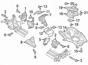 Audi A6 Engine Mount  Right  Diesel  Liter