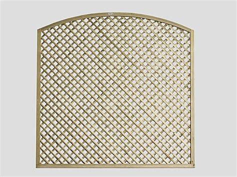Continental Trellis  Curved Diamond Lattice Trellis Fence