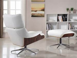 fauteuil lounge cuir soprano blanc fauteuil With fauteuil lounge