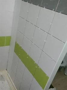 Angle Carrelage Sans Baguette : salle de douche fin du carrelage et du parquet la maison des rigolettes ~ Farleysfitness.com Idées de Décoration