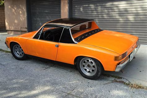 weekly craigslist treasure 1973 porsche 914 with chevy v8 carbuzz