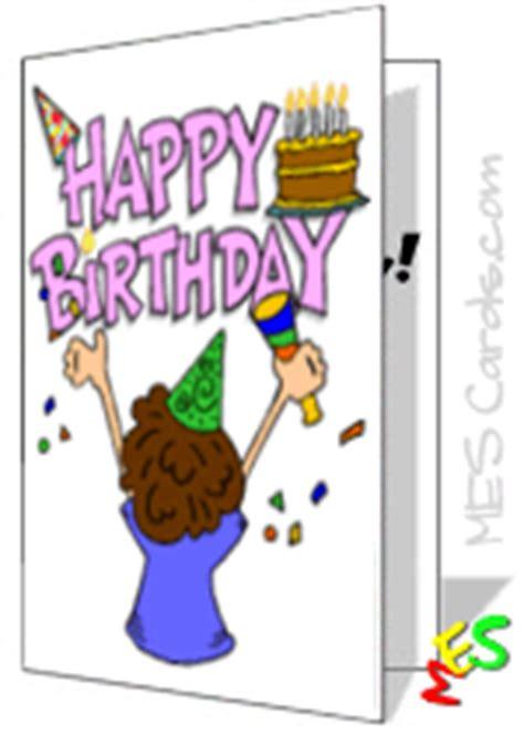 printable cards  kids printable birthday cards