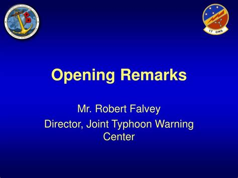 2009 Tropical Cyclone Conference Powerpoint