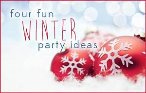 4 Fun Winter Party Ideas