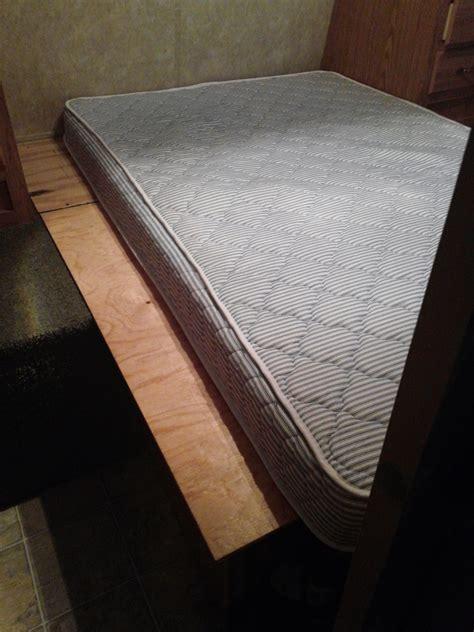 rv bunk mattress best lightweight rv mattress innerspace luxury products
