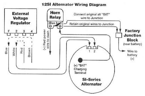 external regulated alternator wiring page chevy high performance forums  super chevy magazine