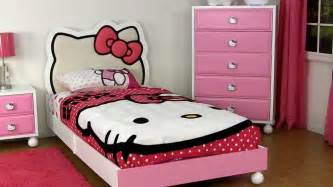 amazing hello kitty bedroom furniture for children and