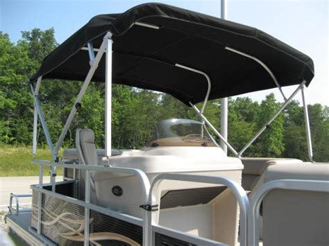 Pontoon Bimini Top Light by Custom Made Pontoon Boat Bimini Cover With Light And