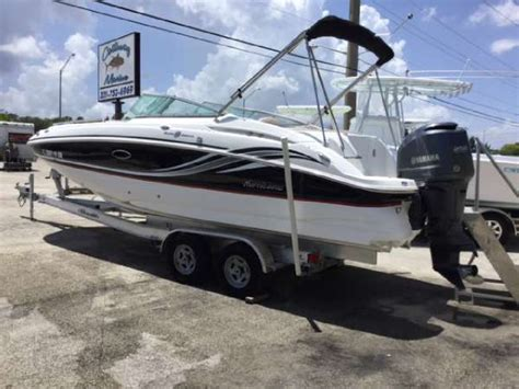Deck Boats For Sale Melbourne Fl by 2014 Used Hurricane Boats Sd 2400 Ob Deck Boat For Sale