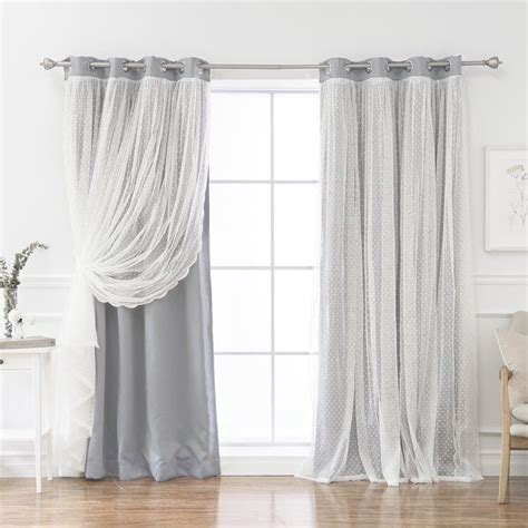 Holland Solid Color Room Darkening Thermal Grommet Curtain