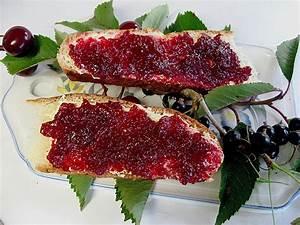 Rezepte Mit Schwarzen Johannisbeeren : kirschmarmelade mit schwarzen johannisbeeren rezept mit ~ Lizthompson.info Haus und Dekorationen