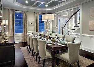 Two Tone Dining Room Ideas Designing Idea