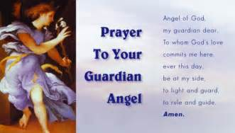 Guardian Angel Prayer Wallet Holy Card Glossy - (25 Cards)