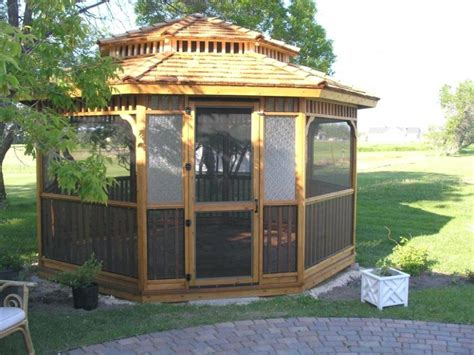 collection  cedar wood gazebo
