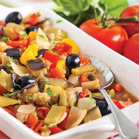 cuisine sicilienne caponata à la sicilienne recettes cuisine et nutrition