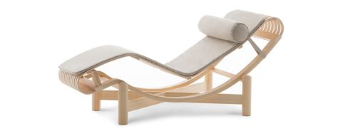 chaise longue design 522 chaise longue by perriand cassina