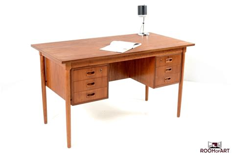 mid century writing desk mid century danish writing desk in teak modernism