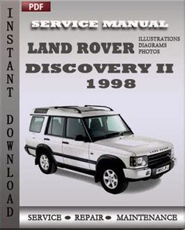 car engine repair manual 1998 land rover discovery windshield wipe control land rover discovery 2 1998 digital service repair manual download service repair manual online