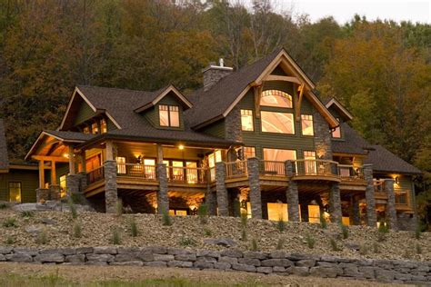 timber frame home in ellicottville n y hgtv