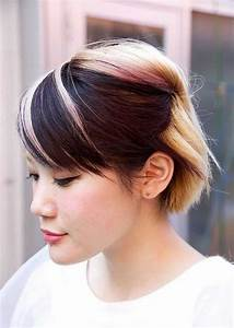 Two Tone Hair Color For Short Hair Short Hairstyles 2017