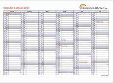 Feiertage 2017 Sachsen + Kalender