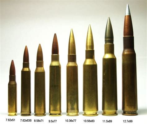 408 Cheytac Vs 50 Bmg by From Left To Right 7 62x51 For Scale 300 Winchester