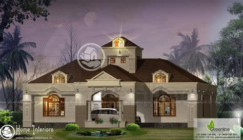 sq ft beautiful single floor house design