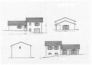 plan maison demi etage 5 maison 90m178 avec garage sur With plan maison demi etage 9 plan maison 80 m