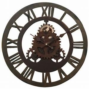 Horloge En Metal : horloge rouage en m tal ~ Teatrodelosmanantiales.com Idées de Décoration