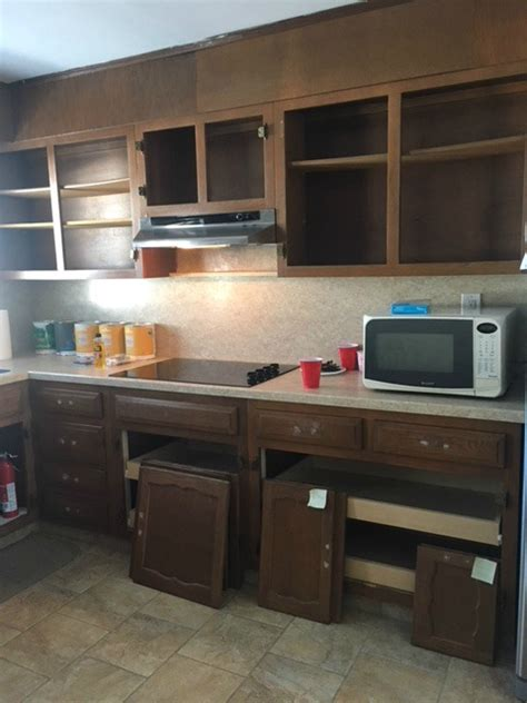 how to prep cabinets for painting painting kitchen cabinets seeking lavendar