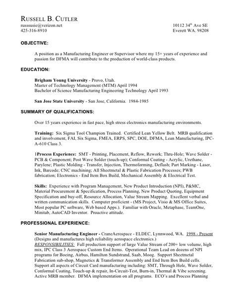 smt process engineer resume resume ideas
