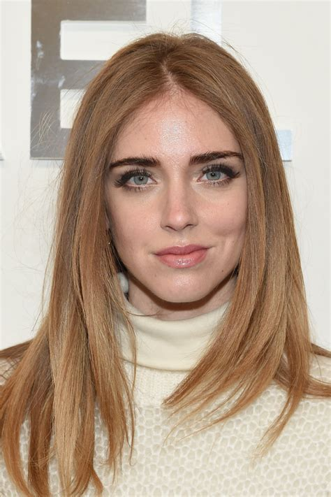 Chiara Ferragni Long Center Part - Chiara Ferragni Looks