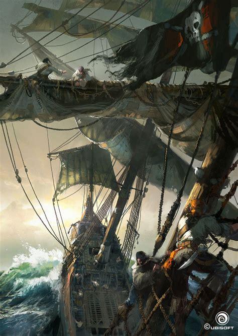 Gloomy Assassins Creed Iv Black Flag Concept Art